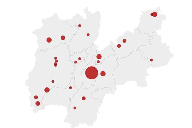 Cartina Trentino.Coronavirus C E La Mappa Dei Casi In Trentino